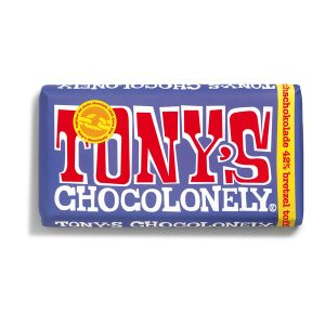 Tony's Chocolonely Schokolade: Dunkle Vollmilch mit Brezel-Toffee