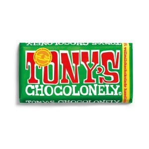 Tony's Chocolonely Schokolade: Vollmilch-Haselnuss