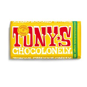Tony's Chocolonely Schokolade: Vollmilch-Nougat