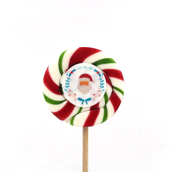 Kamellebuedchen Shop Handgemachte Lutscher Motivlutscher Weihnachtslutscher Weihnachtsmann HoHoHo NEU