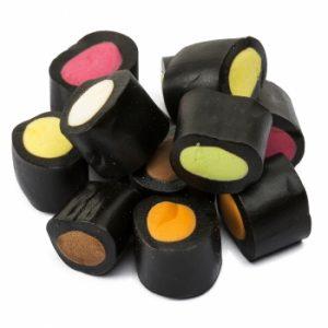 Kamellebuedchen Shop Lakritz Fudge Schokolade Makulaku Lakritz Mix Bulk