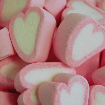 Kamellebuedchen Shop Lakritz Fudge Schokolade MellowMellow Marshmallow Herzen Bulkware