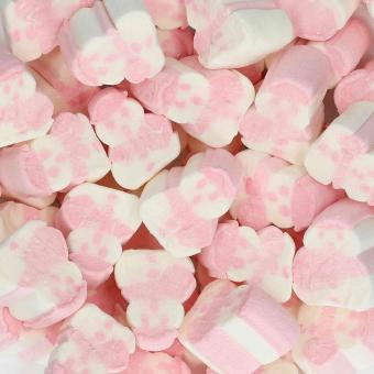 Kamellebuedchen Shop Marshmallows Mellow Mellow Marshmallow Schneemänner Bulk