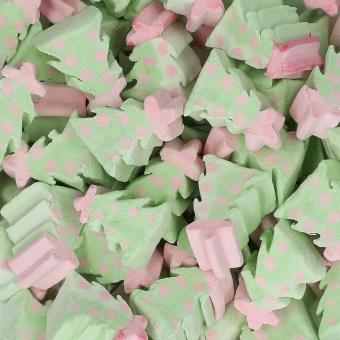 Kamellebuedchen Shop Marshmallows Mellow Mellow Marshmallow Tannenbäume Bulk