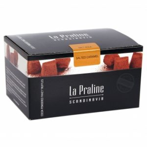 La Praline Scandinavia: Schokoladenpralinés Salted Caramel