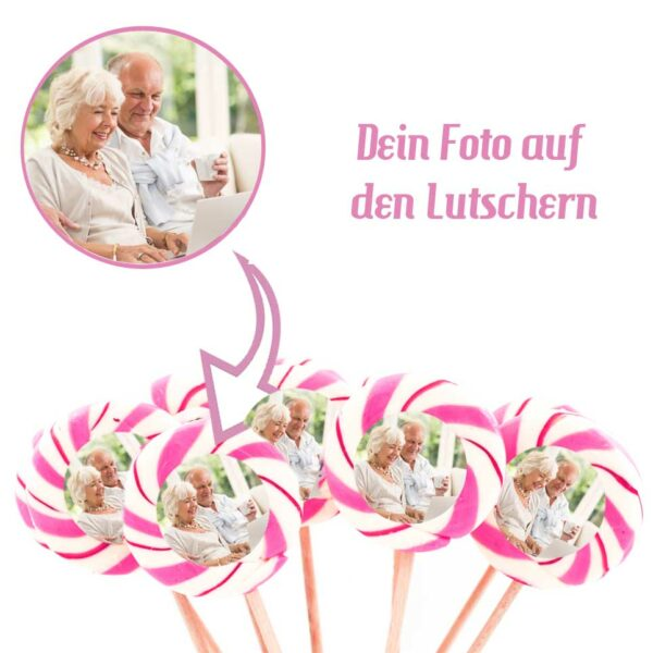 Kamellebuedchen Shop Handgemachte Lutscher Fotolutscher Himbeere Maxi