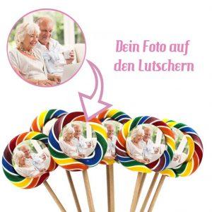 10er Set Fotolutscher: Tutti Frutti