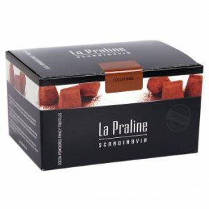 Kamellebuedchen Shop Lakritz Fudge Schokolade La Praline Schokotrüffel Kakaosplitter geschlossen
