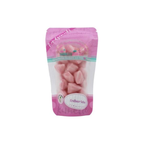Handgemachte Bonbons Erdbeer Sahne