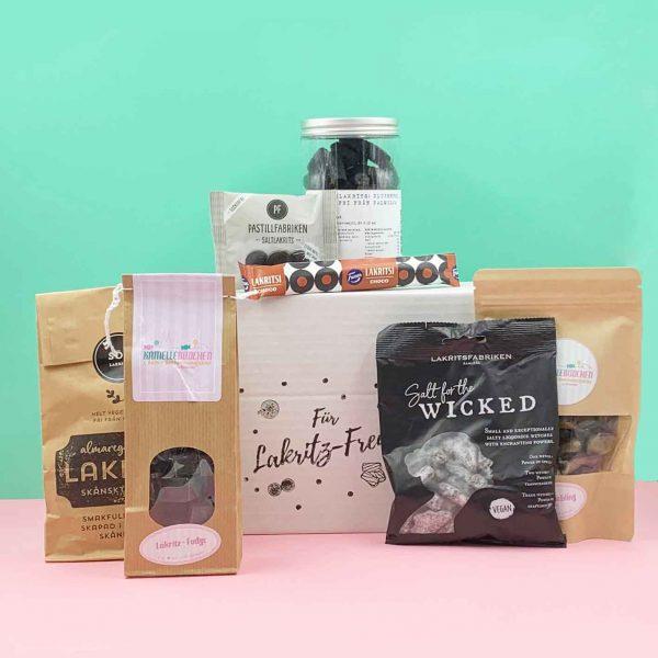 Kamellebuedchen Shop SüßePakete Laritzfreunde Geschenkpaket