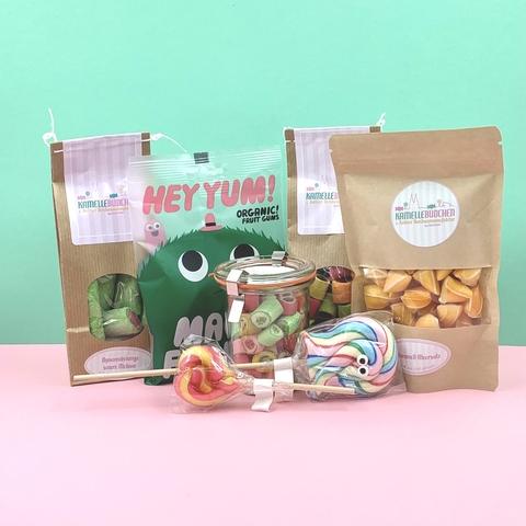 Kamellebuedchen Shop SüßePakete Süße Freunde Geschenkpaket