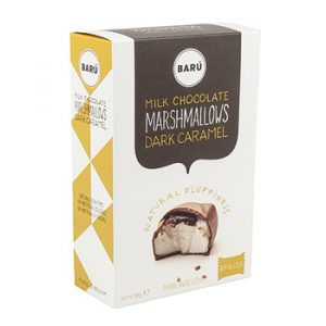 Kamellebuedchen Shop Marshmallow Baru Milk Chocolate Marsmallows Dark Caramel Box groß