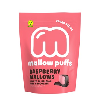 Kamellebuedchen Shop Marshmallow Mallowpuffs Raspberry Marsmallows Tüte