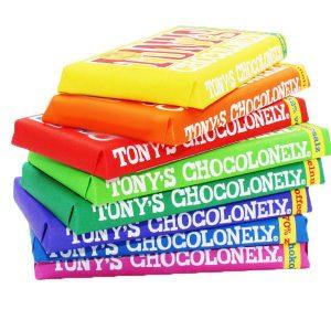 Kamellebuedchen Shop Lakritz Fudge Schokolade Tony Chocoloneley 8er-Set geschlossen