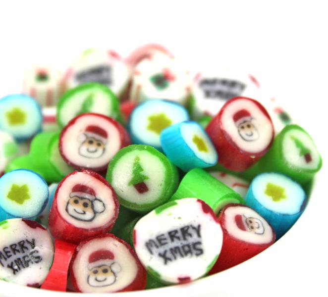 Kamellebuedchen Shop Handgemachte Bonbons Bonbons Mixsorten Oh Du Fröhliche Bulkware NEU