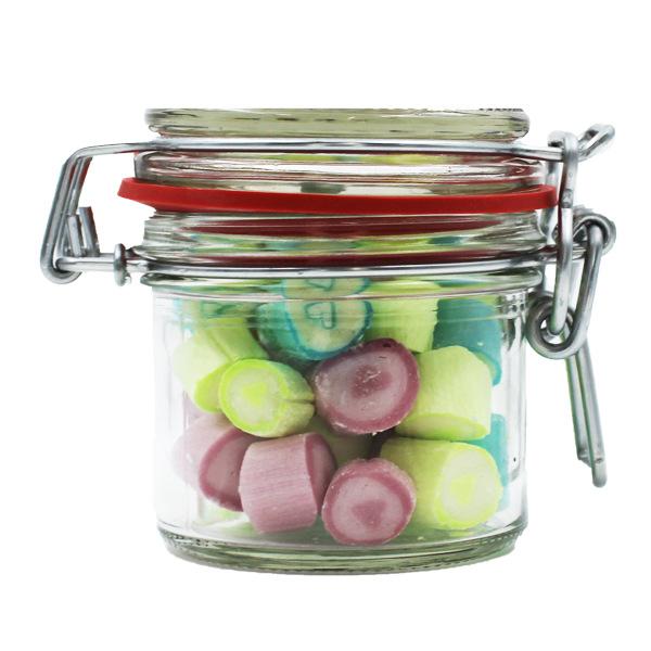 Kamellebuedchen Shop Handgemachte Bonbons Bonbons Mixsorten vegan Bügelglas