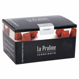Kamellebuedchen Shop Lakritz Fudge Schokolade LaPraline Schokotrüffel Lakritz geschlossen