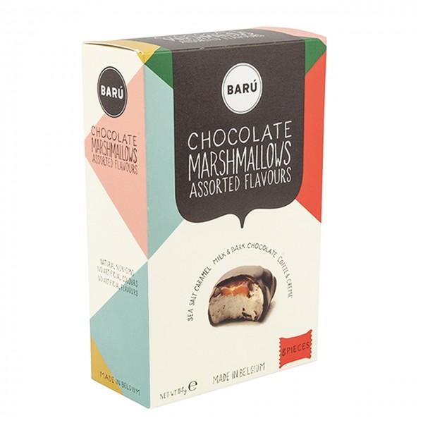 Kamellebuedchen Shop Marshmallow Baru Chocolate Marsmallows Assorted Flavours Box groß