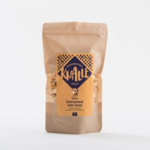 Kamellebuedchen Shop Popcorn Knalle Butterkaramell Tahiti VanilleTüte 100g