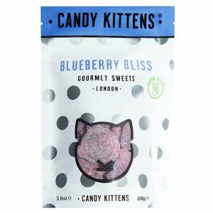 Kamellebuedchen Shop Weingummmi Süßes Weingummi Candy Kittens Blueberry Bliss Tüte