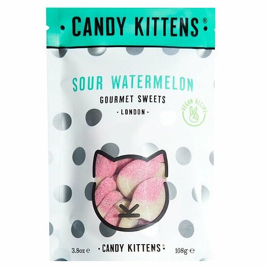 Kamellebuedchen Shop Weingummmi Saure Weingummi Candy Kittens Saure Wassermelone Tüte