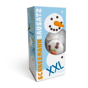 Kamellebuedchen Shop Weihnachten Schneemannbausatz XXL