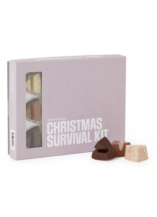 Kamellebuedchen Shop Bonbons Suesse Pakete Christmas Survival Kit