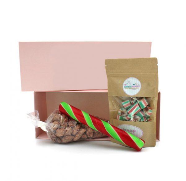 Kamellebuedchen_Shop Süßigkeitenboxen Mini Weihnachtsbox Rudolphs Favoriten