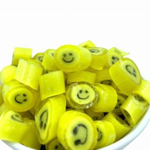 Smiley-Bonbons Zitrone