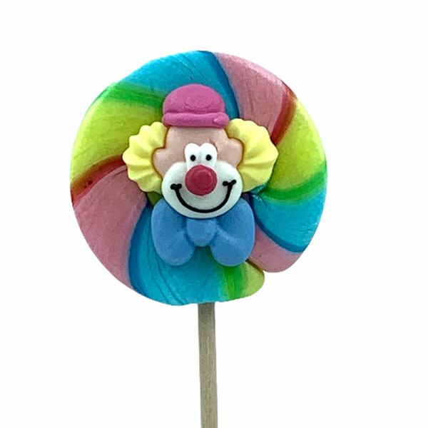 Kamellebuedchen Shop Handgemachte Lutscher Motivlutscher Clown Maxi