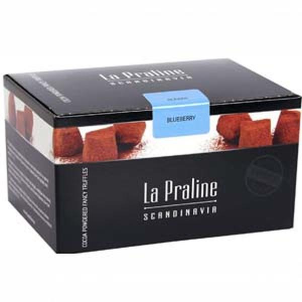 Kamellebuedchen Shop Schokolade Pralinen La Praline Schokotrüffel Blaubeer Trüffel geschlossen