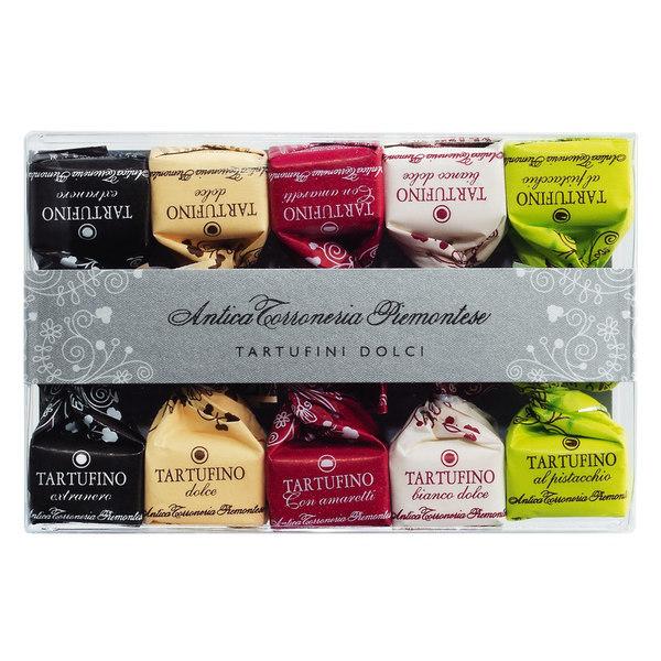 Kamellebuedchen Shop Schokolade Pralinen Tartufo Mixsorten Antica Torroneria Piamontese Tartufini dolci misti neu