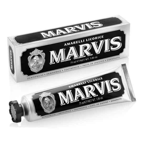 Kamellebuedchen Shop lakritz Marvis Amarelli Lakritz Zahnpasta Tube