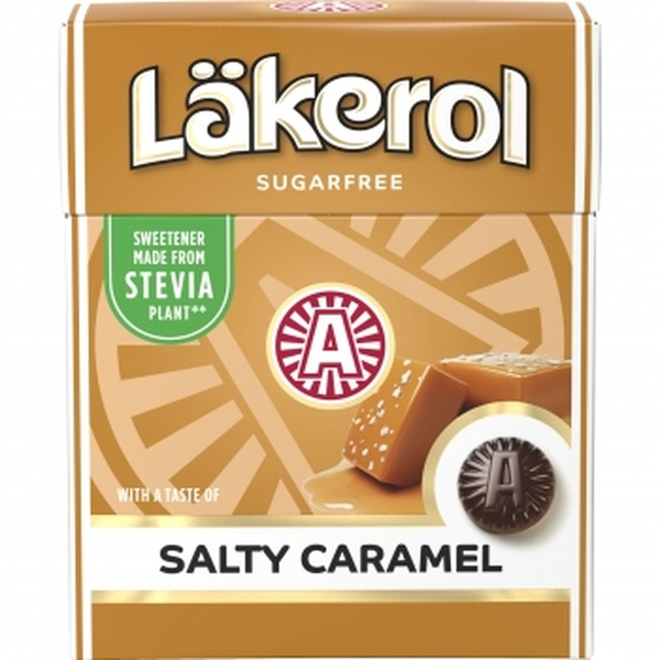 Kamellebuedchen Shop Lakritz Läkerol Salty Caramel Caramel Lakritzpastillen