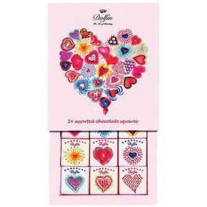 "Dolfin: 24 Mini-Schokoladentafeln ""Love"""