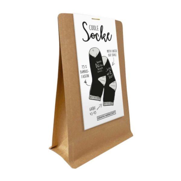 Kamellebuedchen Shop Textiles Grafik Werkstatt Socken Wenn du Herren