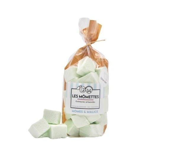 Kamellebuedchen Shop Marshmallow Les Momettes Marshmallows Limette