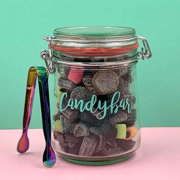 Mini Candybar Lakritz mit Zange
