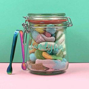 Mini-Candybar: Saures Fruchtgummi