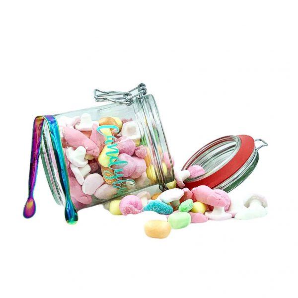 Mini Candybar Süßes Fruchtgummi mit Zange