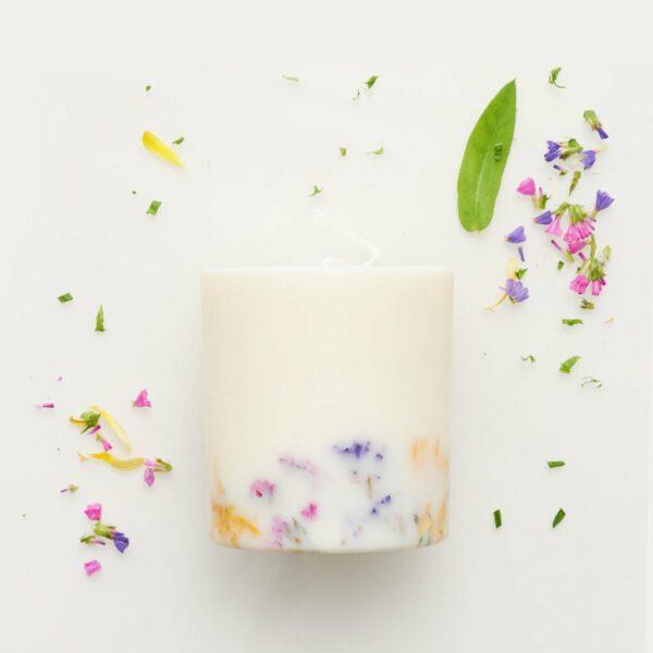 Duftkerze Sojawachs Wildblume