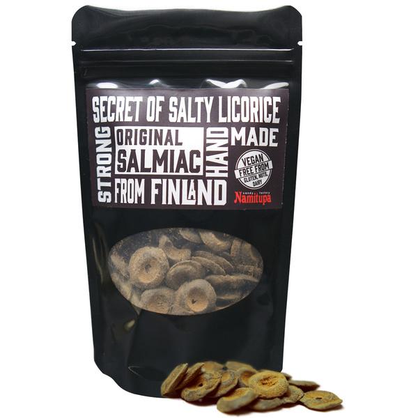 Kamellebuedchen Shop Lakritz Candyfactory Namitupa Finnisches Salzlakritz Original Salmiak Tüte