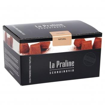Kamellebuedchen Shop Lakritz Fudge Schokolade LaPraline Schokotrüffel Naturell geschlossen