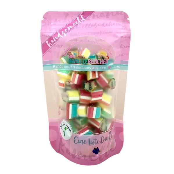 Kamellebuedchen Shop_ Handgemachte Bonbons Bonbons Einzelsorten Eine Tüte Danke neues Doypack