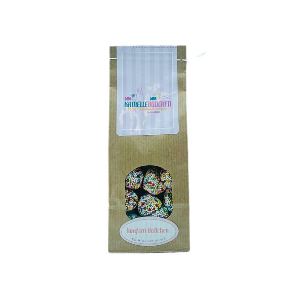 Kamellebuedchen Shop Weingummi SüßesWeingummi YummiYummi Konfetti-Bällchen Tüte
