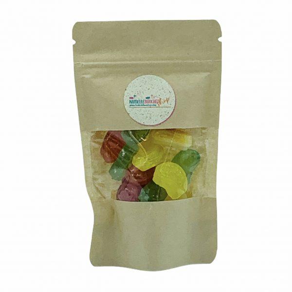 Kamellebuedchen-Shop-Handgemachte-Bonbons_Zuckerfreie Bonbons-SaureFrüchtchen-Doypack