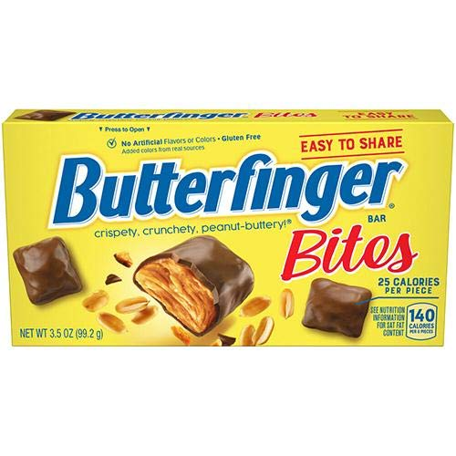 American sweets Butterfinger Bites Box