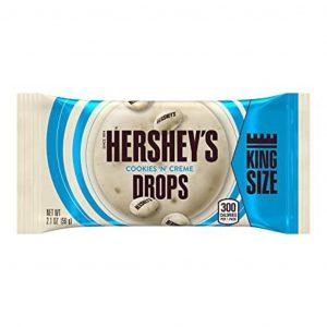 Kamellebuedchen-Shop-American-sweets-Hershey's-Cookies--n-Cream-Drops-Tüte