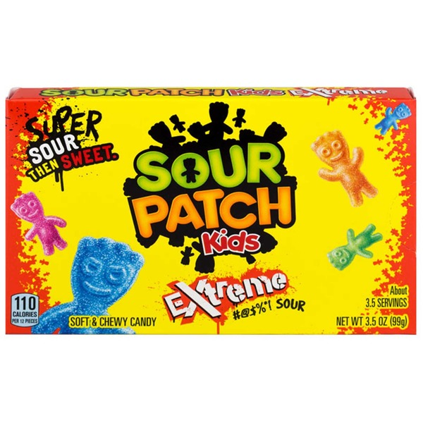 American sweets Sour Patch Kids Extreme Box