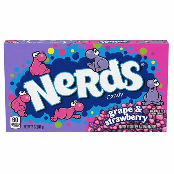 American sweets Wonka Nerds Grape & Strawberry Box